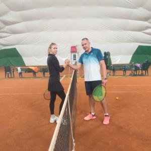 Теннис для взрослых в СПб